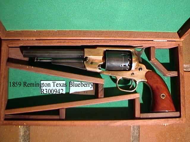 les armes à feu célèbre dans la bande dessinée 1858remingtontexasMy